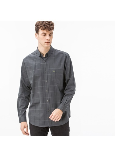 Lacoste Erkek Regular Gömlek CH1904.04S Gri